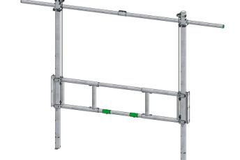 Spinder draw gate heavy-duty: lift