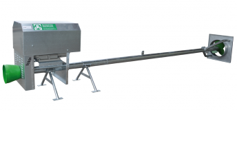 Spinder Dairy Housing Concepts electric-driven manure mixers