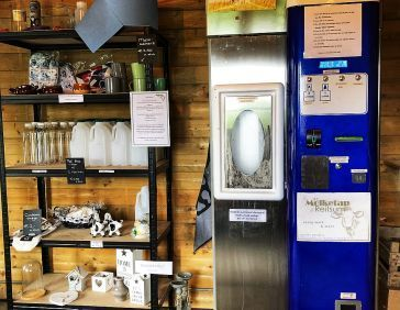 Milk vending machine Reitsum