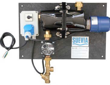 Suevia-water circulation pump unit