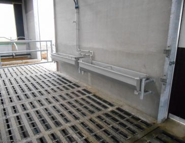 Spinder stainless steel bulk drinking trough